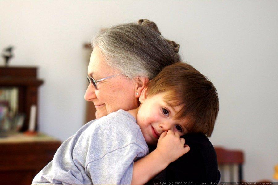 gramma hug